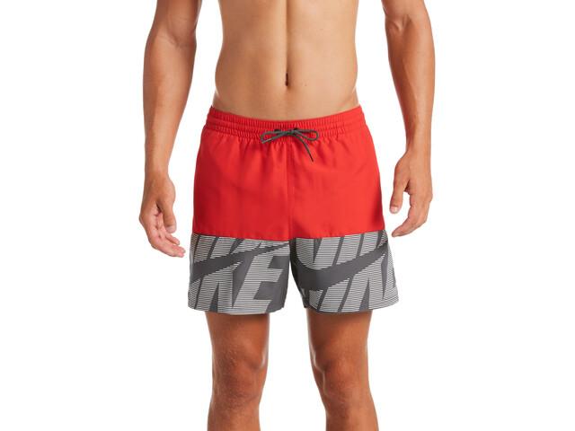 Nike Swim Tilt Split Breaker Short Volley 5'' Homme, university red